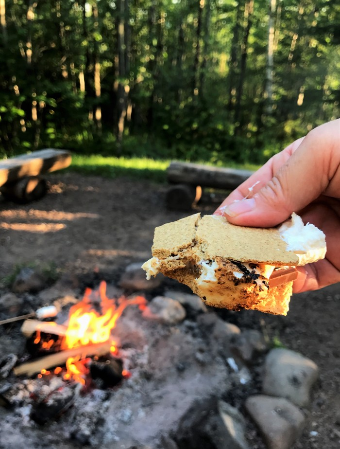 Every day is s'mores day at 142C Caribou Highlands, Lutsen MN!