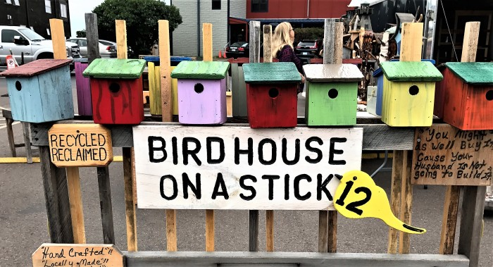 Birdhouse on a stick, taken July 2017, www.FromLutsenwithLove.com