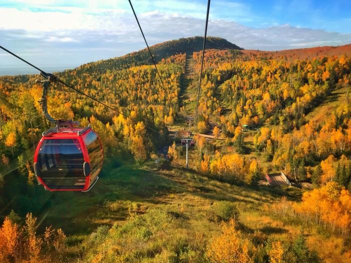 Lutsen Mountains Goldola, www.FromLutsenwithLove.com