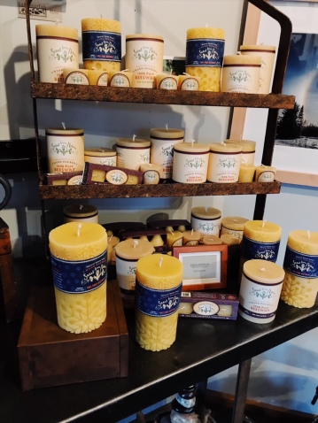 100% pure beeswax candles, www.scentfromnature.com