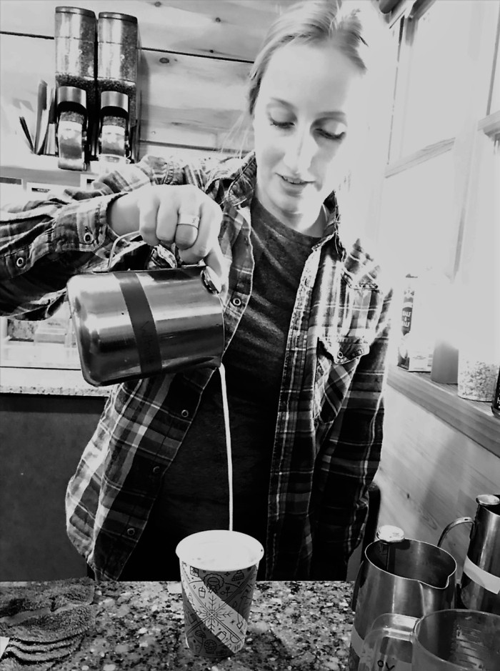 Barista at Dunn Bros Duluth - www.FromLutsenwithLove.com