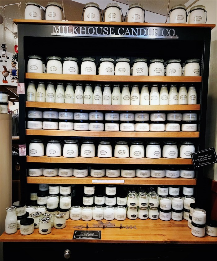 Milkhouse Candles in every shape, size & scent, published on www.FromLutsenwithLove.com