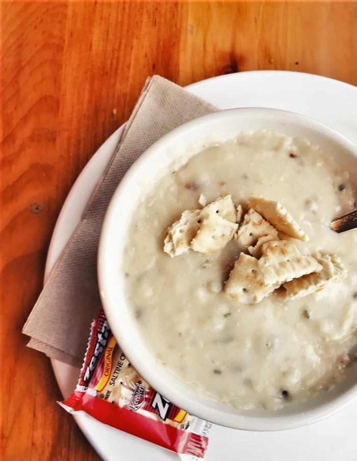 Baked Potato Soup at Dunn Bros, Duluth, MN - www.FromLutsenwithLove.com
