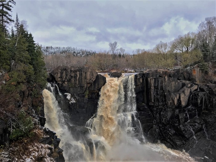 Pigeon River and waterfalls, www.FromLutsenwithLove.com
