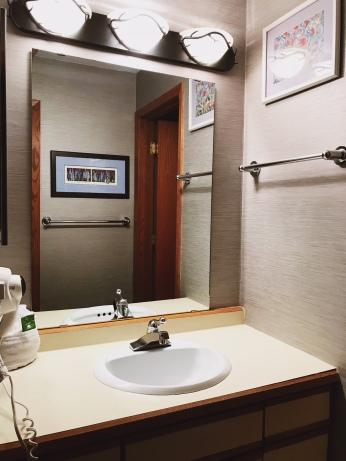 Upstairs vanity at 142C