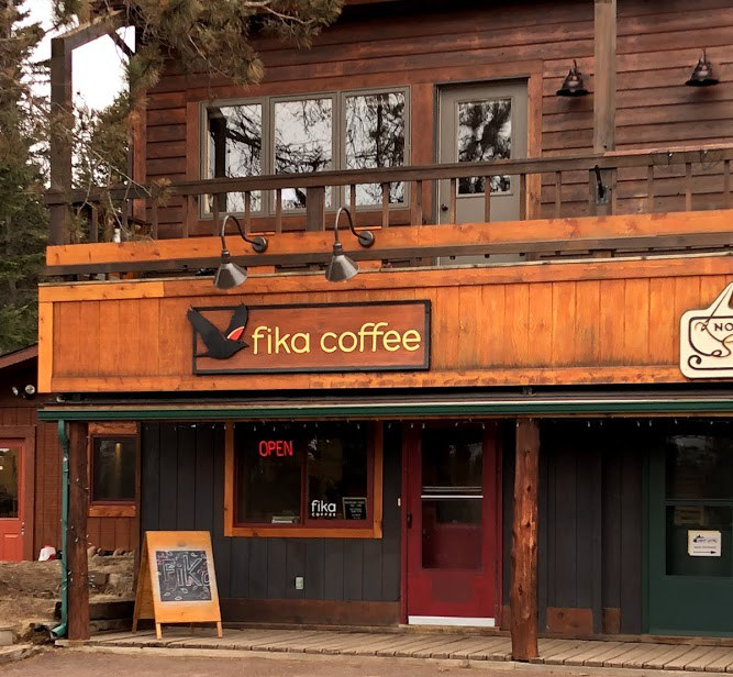 Fika Coffee in Lutsen, MN featured on www.fromlutsenwithlove.com