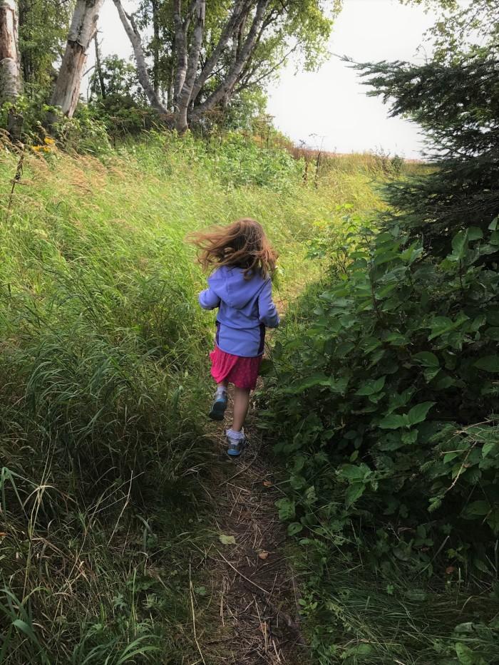 Exploring Lake Superior with kids near Lutsen, MN