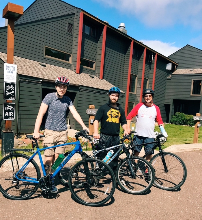 Lutsen bicycling adventure, Caribou Highlands, 142C