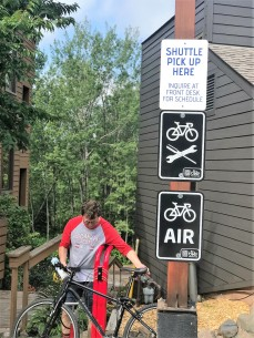 Caribou Highlands Bike Station