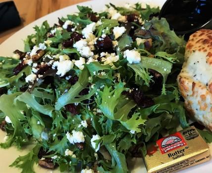 Coho Cafe Tofte MN salad
