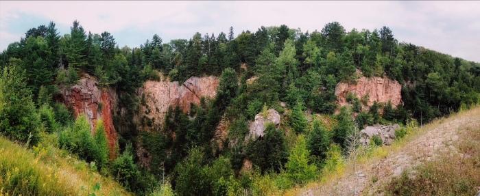 Soudan Mine, Minnesota State Park, open pit mine