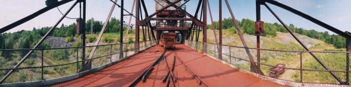 Soudan Mine, Minnesota State Park, iron ore, rail cars