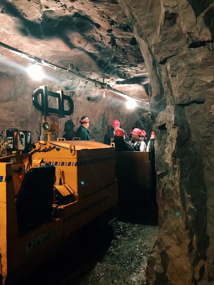 Soudan Mine, Minnesota State Park, underground tour
