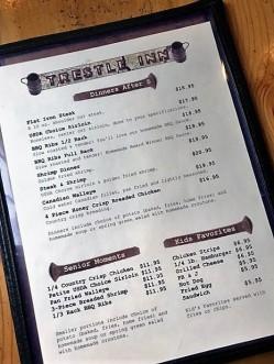Trestle_Inn_Finland_MN_menu