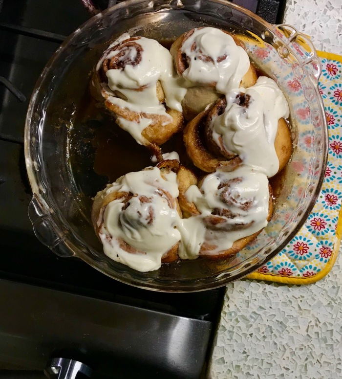 Bread in 5 Holiday Cinnamon Rolls