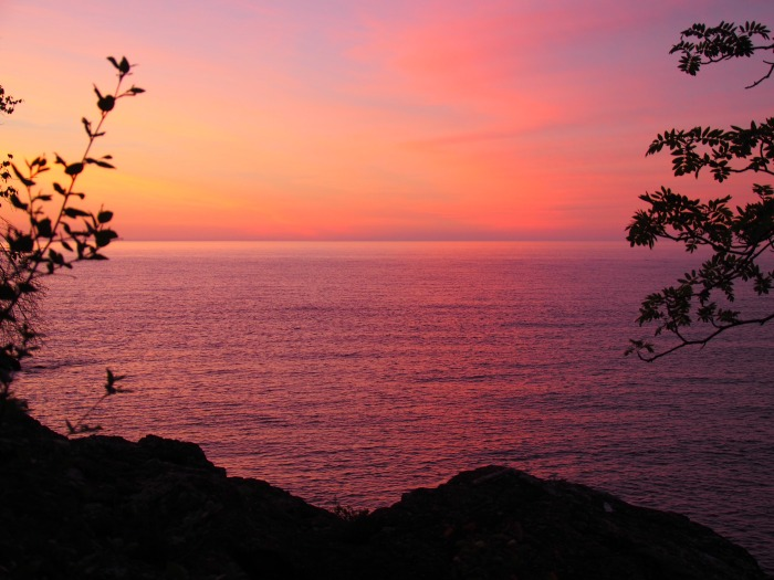 Sugar Loaf Cove Minnesota Sunrise From Lutsen with Love