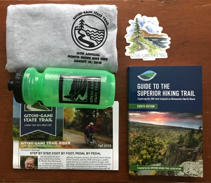 Gitchi-Gami Trail and Superior Hiking Trail trail lovers giveaway