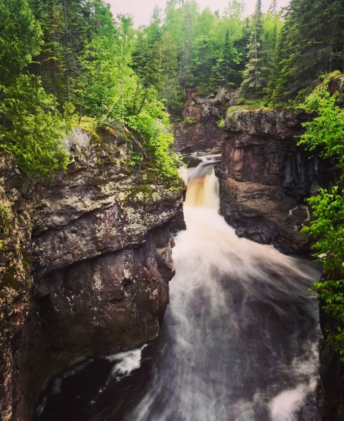Temperance River, Tofte Minnesota, Superior Hiking Trail, Carlton Peak