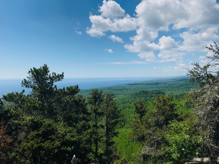 Carlton Peak Superior HIking Trail Minnesota