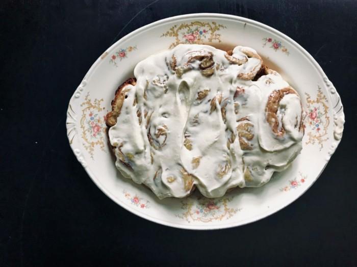 Zoe Francois slower cooker cinnamon rolls, From Lutsen with Love