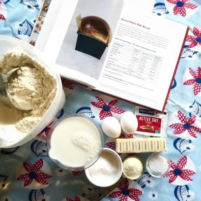 Cinnamon Roll ingredients
